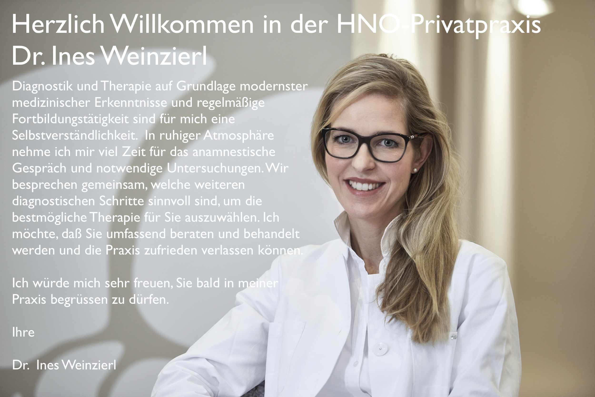 Dr. Weinzierl Fachärztin für HNO Nürnberg
