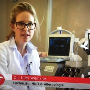 Praxis Dr. Weinzierl im Frankenfernsehen, Bericht über Allergien und Heuschnupfen
