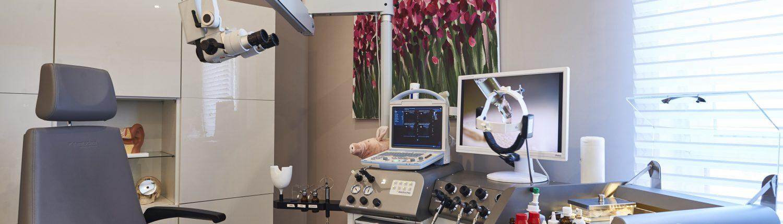 Behandlungsraum HNO-Praxis Dr. Weinzierl in Nürnberg