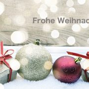 Frohe Weihnachten wünscht Ihre HNO-Praxis in Nürnberg Fürth Erlangen Lauf