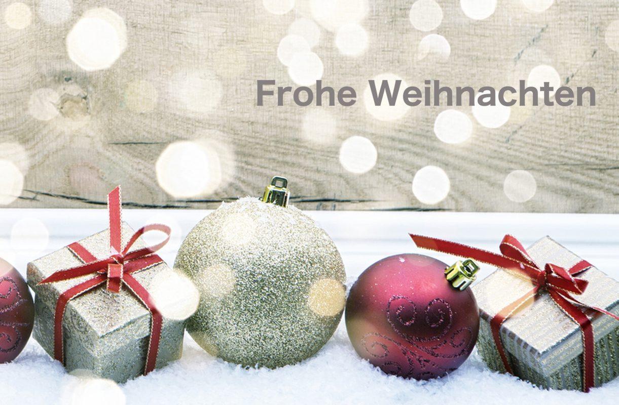 Frohe Weihnachten HNO Patienten Nürnberg