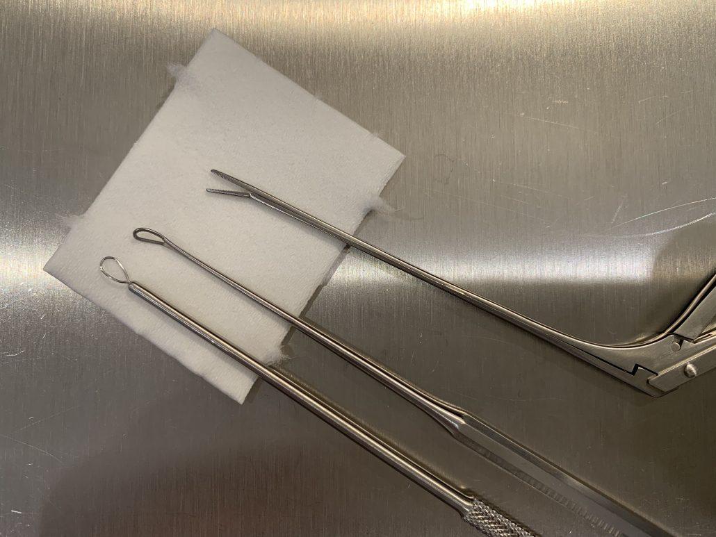 Ohrreinigung Instrumente HNO-Arzt