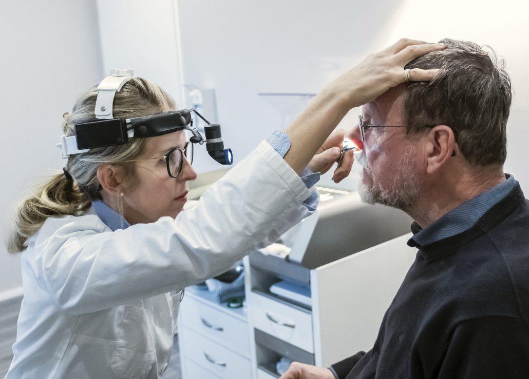 Nasenbluten Untersuchung