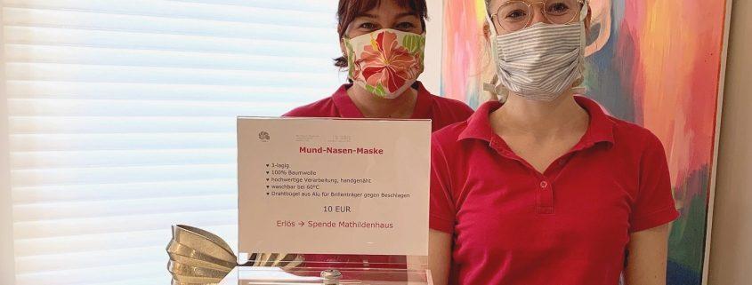 Behelfs-Mund-Nasen-Maske